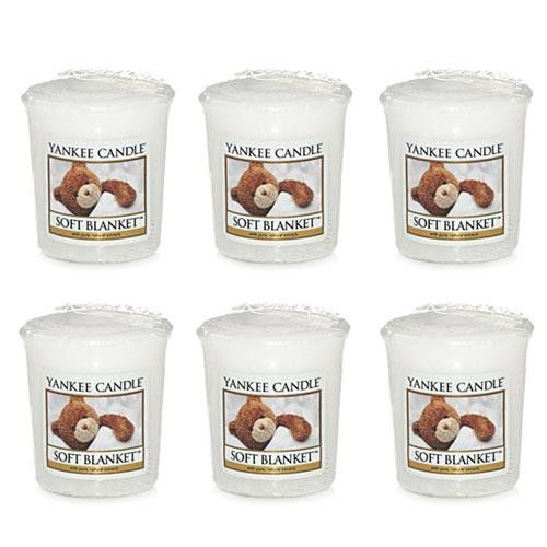 Yankee Candle Soft Blanket 6 Samplers