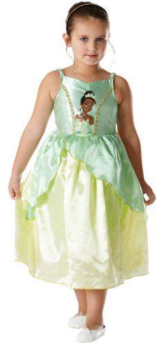 Costume principessa Tiana Disney http://www.regaliperbambini.org/abbigliamento/costumi-carnevale/costume-principessa-tiana