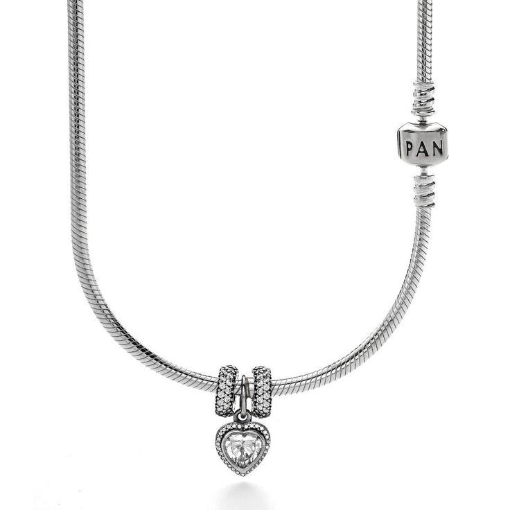 Pandora Sparkling Love Complete Necklace