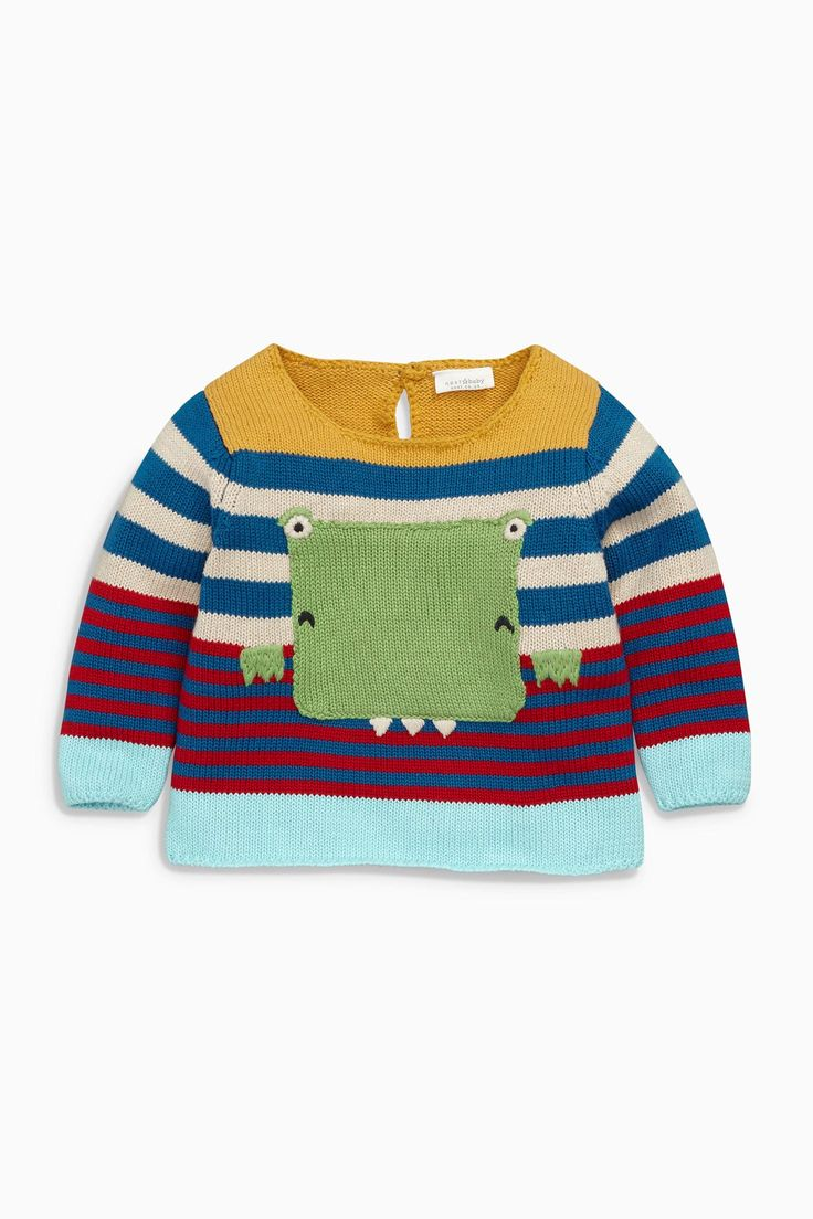 Buy Multi Dinosaur Jumper (0mths-2yrs) from the Next UK online shop