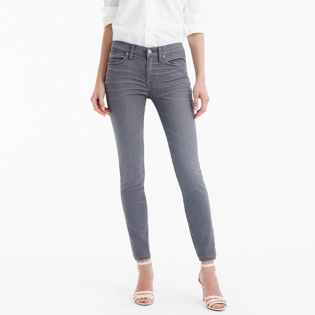 Tall toothpick jean in grey