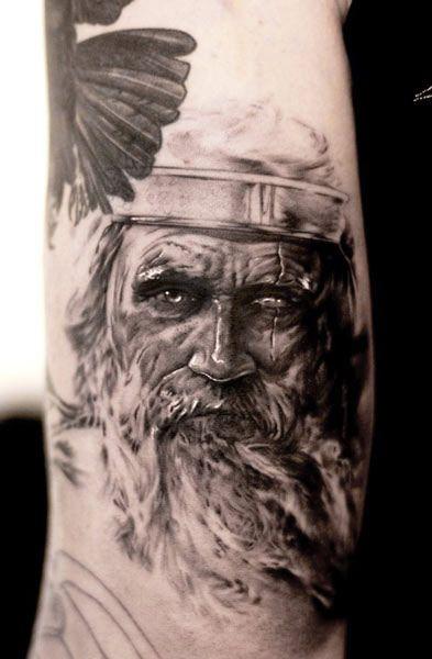 Face tattoo by Niki Norberg | tattoos - Face tattoos ...