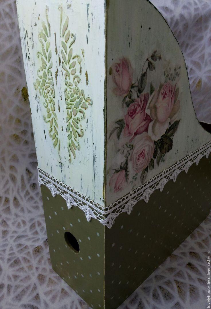 """Купить Набор для туалетного столика """"Розовые розы"""" - Декупаж, дамские штучки, салфетница ручной работы"""