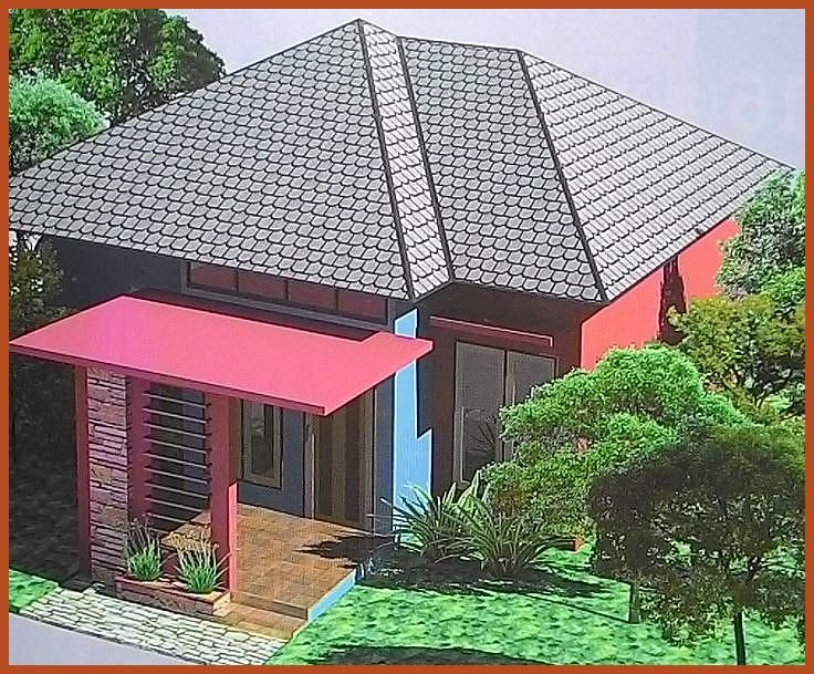 Design Houses A Unique Terrace Pyramid Roof Small House Exteriors House Roof House Roof Design