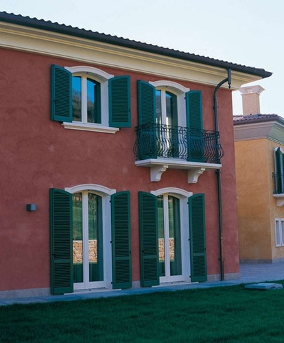 Custom Wood Windows and Shutters by America Italiana