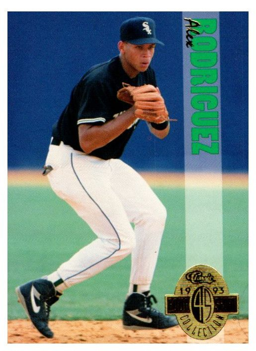 1993 Classic Four Sport Alex Rodriguez Rookie Card New York Yankees
