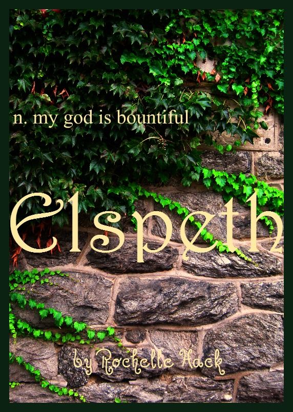 Baby Girl Name: Elspeth. Meaning: My God is Bountiful. Origin: Scottish. https://www.pinterest.com/vintagedaydream/baby-names/