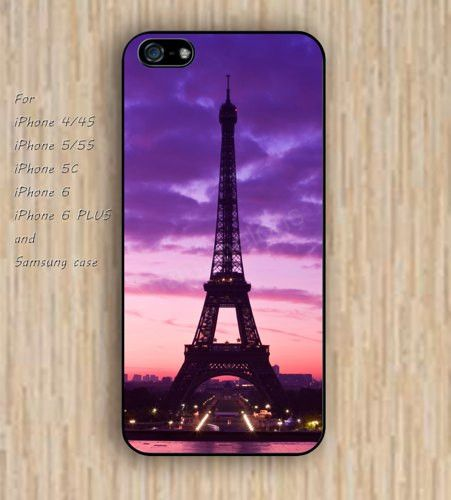 iPhone 5s 6 case Dream catcher colorful eiffel tower rainbow phone case iphone case,ipod case,samsung galaxy case available plastic rubber case waterproof B435