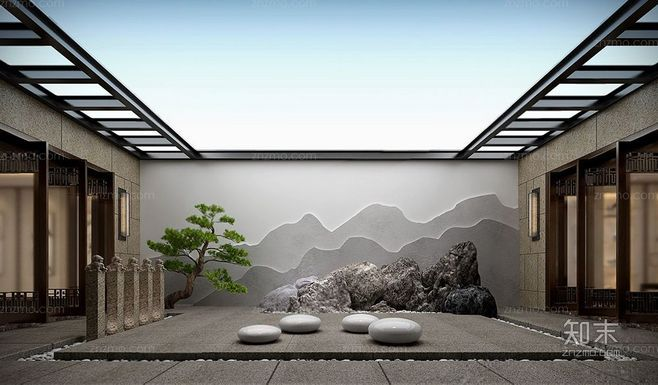 Pin By Ray Zhao On Landscape Veneer Japanese Style House Japanese Interior Design Interior Architecture Drawing