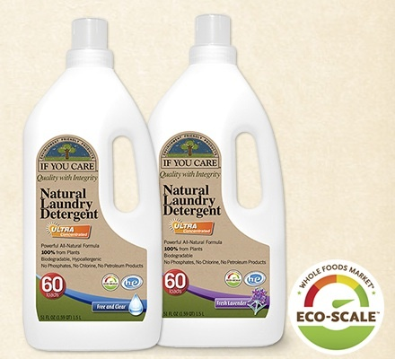 Natural, plant-based cleaning ingredients make If You Care® the natural choice for your laundry, your skin, and the environment. But it also has concentrated cleaning power so it's extra tough on grease and dried food.. #Non-toxic, no phosphates, #chlorinefree, #biodegradable, #hypoallergenic --and STRONG. Clean and Simple  http://www.ifyoucare.com