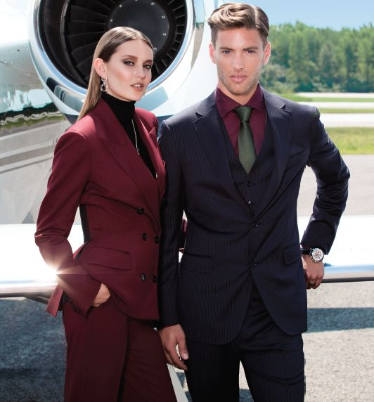 Burgundy for fall 2014, picture of our fashion editorial in Mixte Magazine 16 #fashion #suits #tigerofsweden #henrivezina #jeanpaulgaultier #jetset #glamour #vinciaviation #mixtemoment