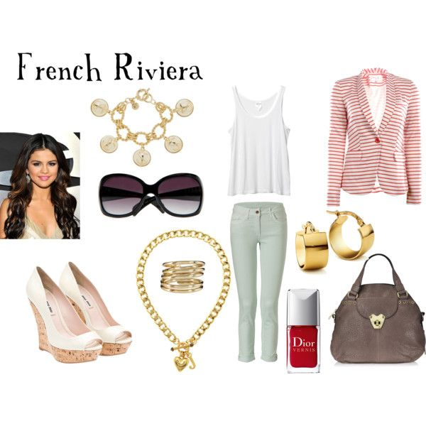 French Riviera, created by sequin-diva on Polyvore