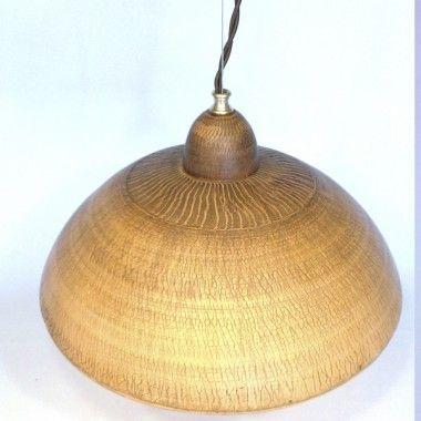 Керамическая люстра ручной работы «Грибная поляна»