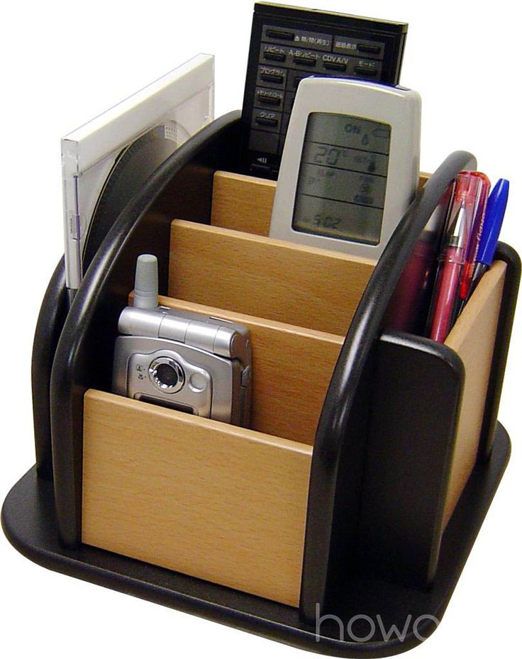 Keep Your Desk Organised With This Great Rotating Desk