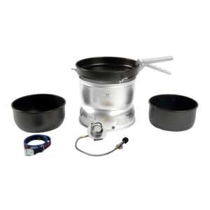 Vango Trangia 25-5 GB/UL Stove and Non Stick Cooking Set The Trangia 25-5 Cook System is a lightweight aluminium cooking set suitable for 3-4 people making it ideal for group expeditions and lightweight family camping trips The Trangia Gas Burner included i http://www.MightGet.com/january-2017-11/vango-trangia-25-5-gb-ul-stove-and-non-stick-cooking-set.asp