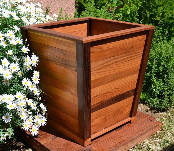 Large Redwood Planter Box For Tomatoes: 12 Best Garden Images On Pinterest