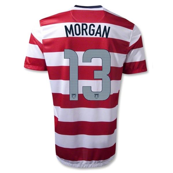 1a25481fb usa 13 alex morgan home 2016 2017 country national team soccer ...