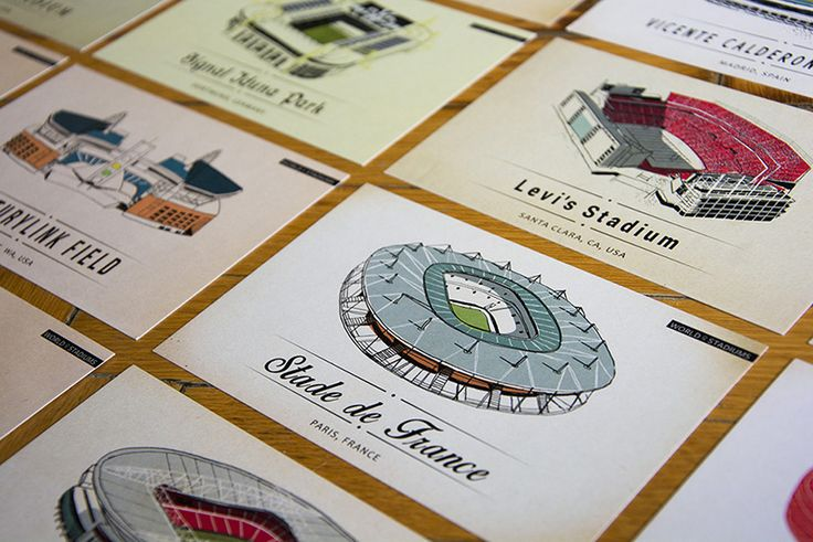 lehel kovacs illustrates iconic sporting grounds in world of stadiums