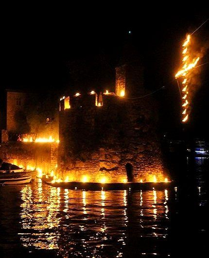 Good Friday in the Castle of Nafpaktos, Greece