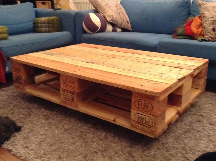 Der Schwebende Paletten-Couchtisch | Pallets And Tables