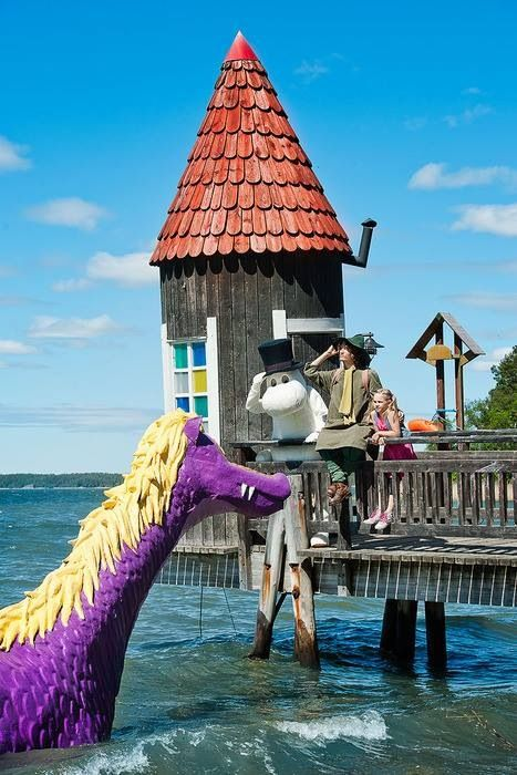 Moomin World in Naantali Finland