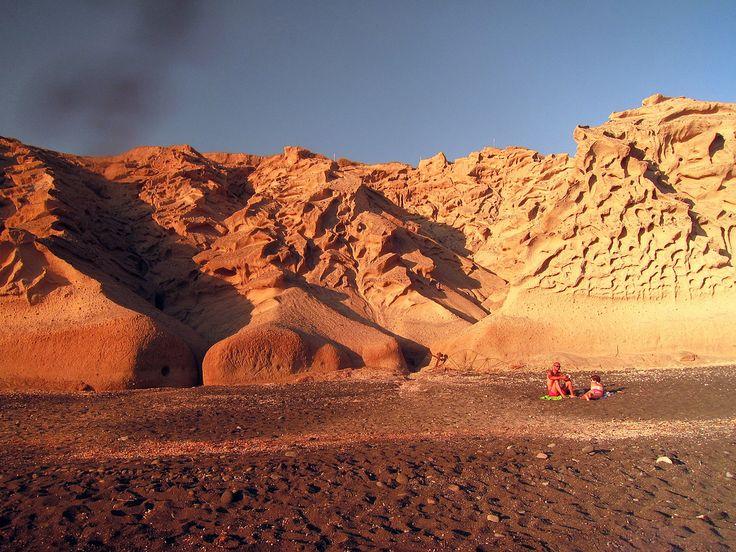 The famous Red beach..! #Santorini