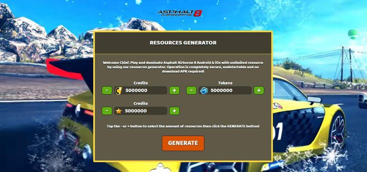- Unlimited Credits - Unlimited Tokens - Unlimited Stars  Asphalt Airborne 8 Hack Online:  http://resources-generator.online/asphalt-airborne-8.html