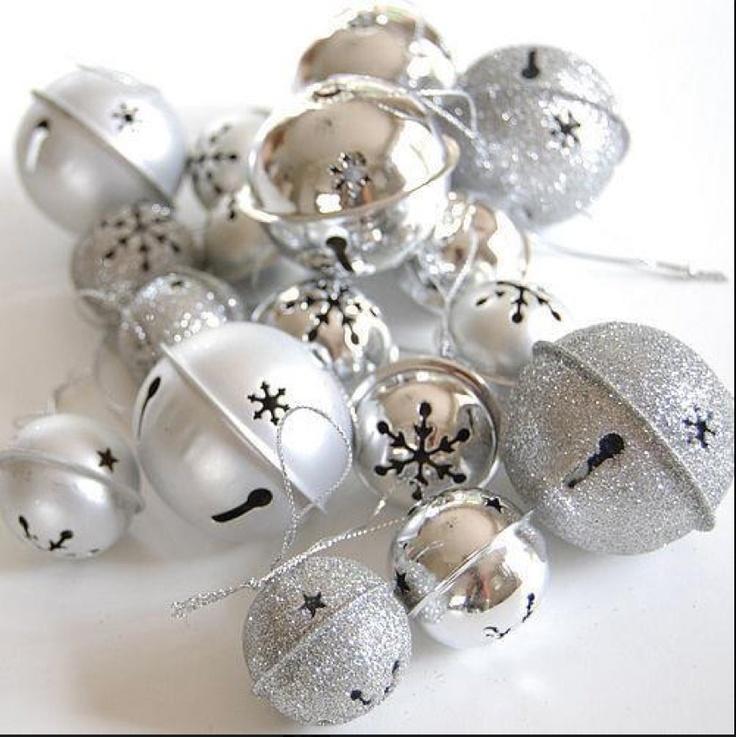 Silver Bells Decorations Pleasing 44 Best Silver Bells Images On Pinterest  Christmas Ideas Inspiration Design
