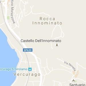 Il Castello dell'Innominato si trova a Vergurago, vicino al Lago di Lecco. E' raggiungibile a piedi attraverso un breve sentiero in circa 30 minuti.