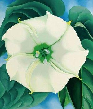 Quadro de Georgia O'Keeffe bate recorde e é vendido por R$ 114 milhões (Foto: Reprodução/Sotheby's) http://glo.bo/1yuJc3Q