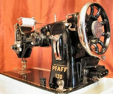 vintage for sale pfaff 130 vintage sewing machine singer sailrite pfaff sewing machines heavy. Black Bedroom Furniture Sets. Home Design Ideas