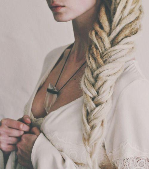 Really pretty blonde dreads