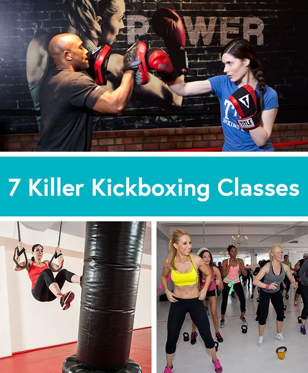 The 7 Best Kickboxing Classes to Crank Up the Burn