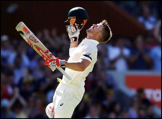Aus vs Ind 1st Test: David Warner smashed another century, lead by 363. http://www.morningcable.com/home/sports/38698-david-warner-smashed-another-century-lead-by-363.html  Australian opner David Warner has played an outstanding cricket and smashed another wonderful century and lead Australia to 290 for loss of 5 wickets on Friday and a  lead by 363-run lead over India after the fourth day of the first Test.