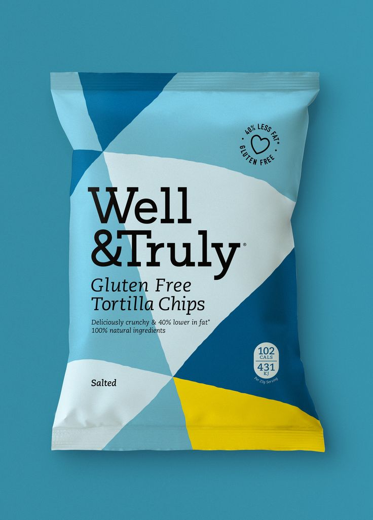 Pattern / Colour / Well & Truly / Brand Identity / Packaging / Chips / Crisps / Chips Packaging / Crisps Packaging / Tone of Voice / Logo / Snacking / Start-up / Healthy