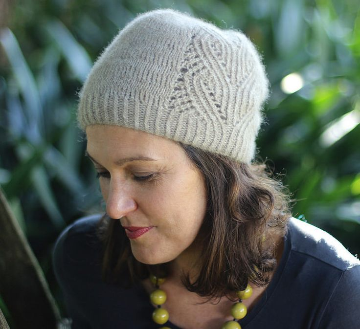 Free Knitting Patterns For Hats Ravelry : Koru Hat by Truly Myrtle Designs available on Ravelry #knitting #pattern #hat...
