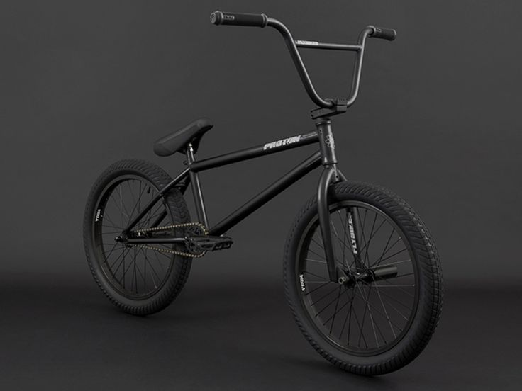 "Flybikes ""Proton FC"" 2017 BMX Bike - Flat Black | RHD | Freecoaster"