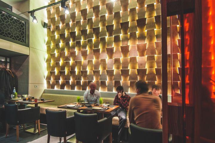 BARBACOA restaurant bar by Dekart Studio Odessa Ukraine