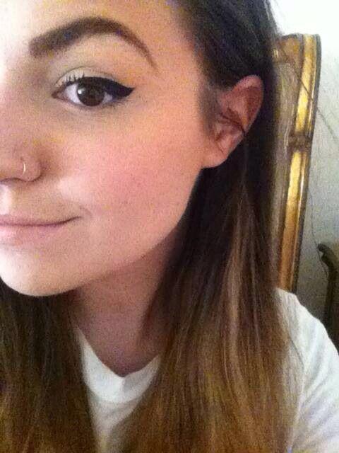 Cutiepiemarzia nose piercing