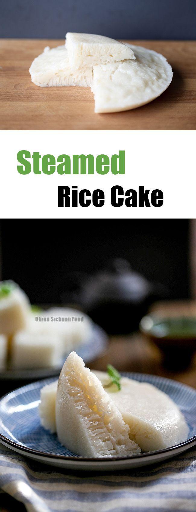 Steamed rice cake #baitanggao
