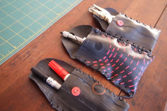 DIY bicycle pouch tutorial from Etsy