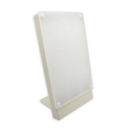 Travelite 10,000 Lux, Bright Light Therapy Portable Desk Lamp, Beige