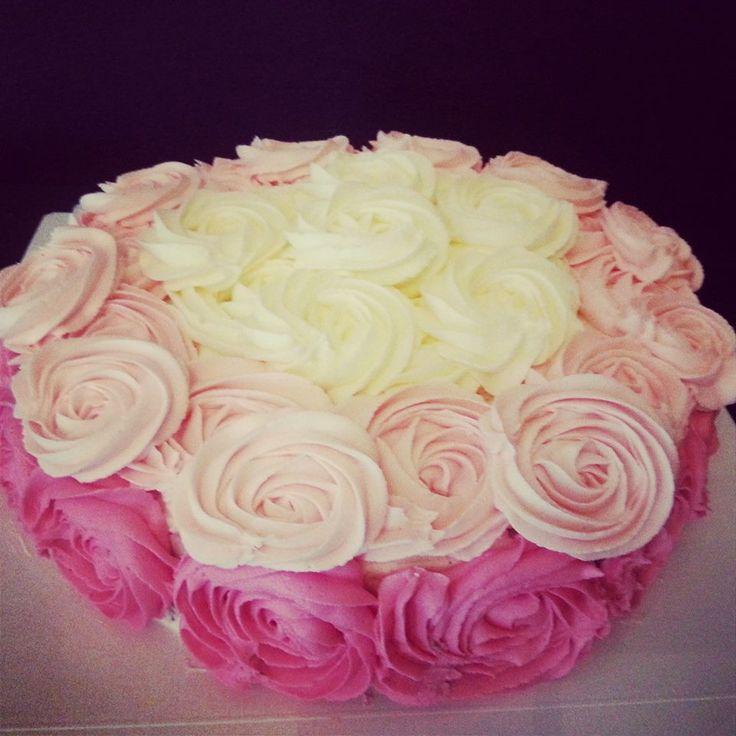 BrkLyn Bakery - Rose Cake