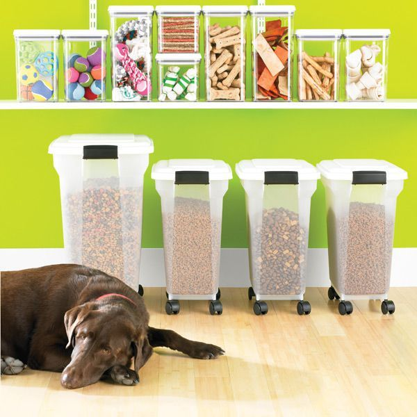 11 Clever Ways To Store All Those Things You Buy In Bulk Dog