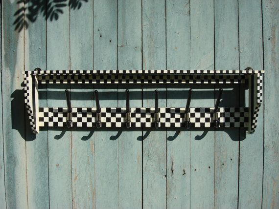 Mackenzie Child inspired clothes rack shelf от OldMoscowGallery