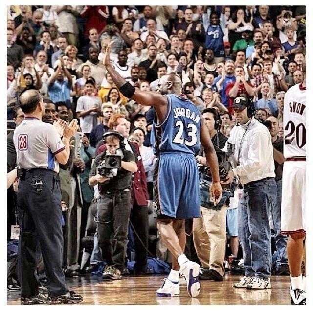 Michael Jordan 2003 last game.