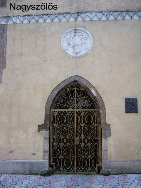 Nagyszőlős, Római katolikus - Nagyboldogasszony- templom, részlet Kárpátalja