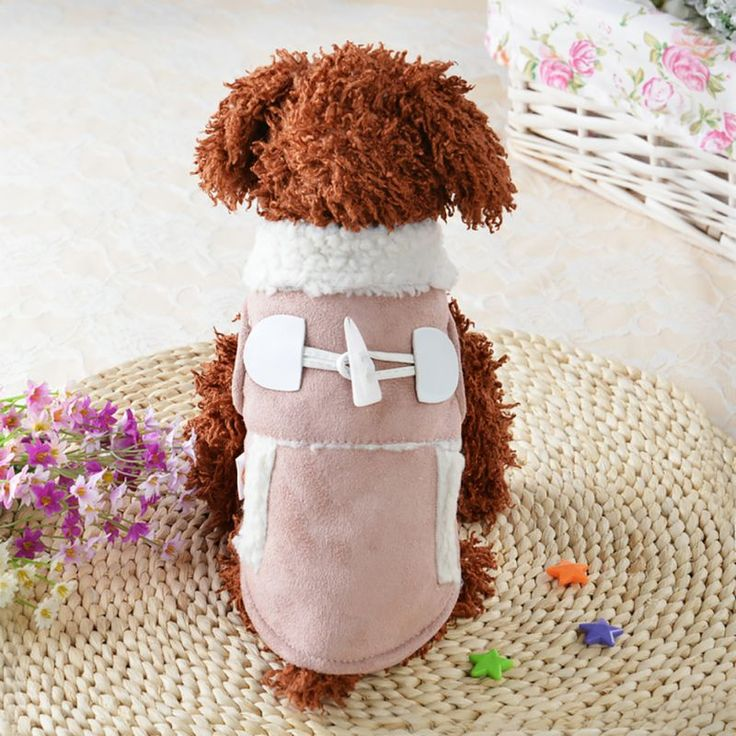New Pet Dog  Winter Clothes Coat Puppy Cat Warm Motorcycle Vest Clothing Small Dog Chihuahua Abrigo #Affiliate