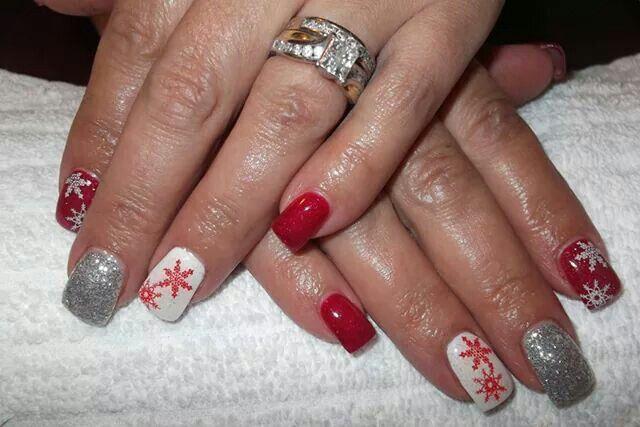 LCN Nails Christmas