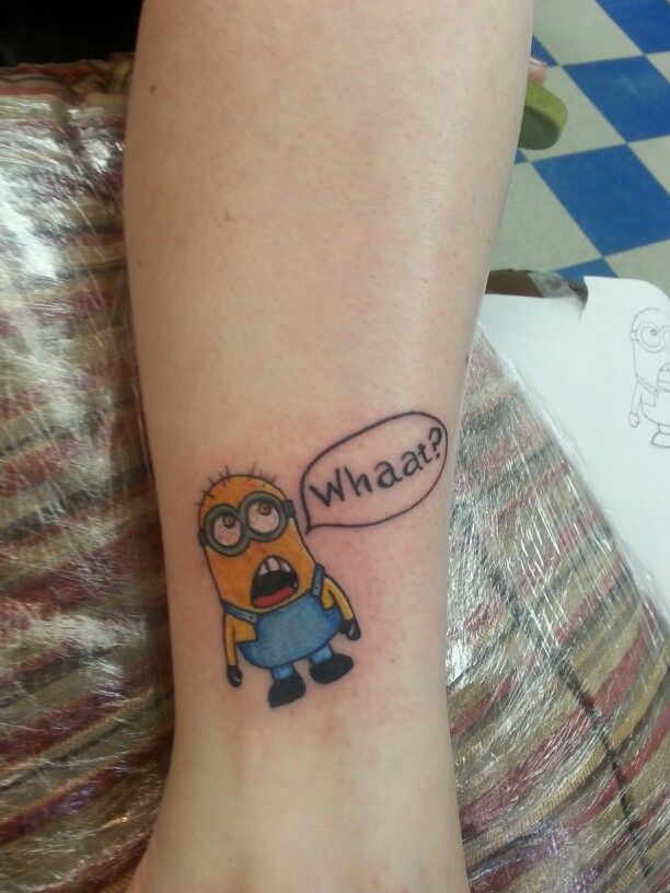 1000 images about minion tattoos on pinterest buzz lightyear batman symbol tattoos and tatuajes. Black Bedroom Furniture Sets. Home Design Ideas